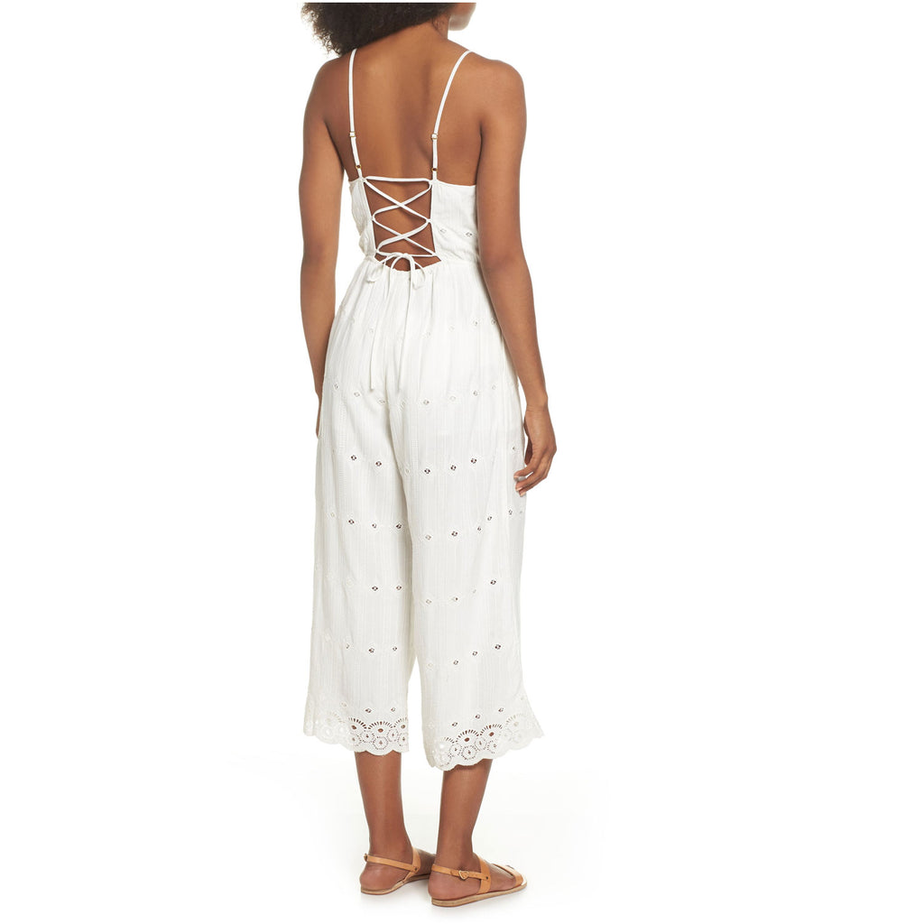 L Space  Ciara Eyelet Jumpsuit Size  Muse Boutique Outlet | Shop Designer Rompers & Jumpsuits on Sale | Up to 90% Off Designer Fashion
