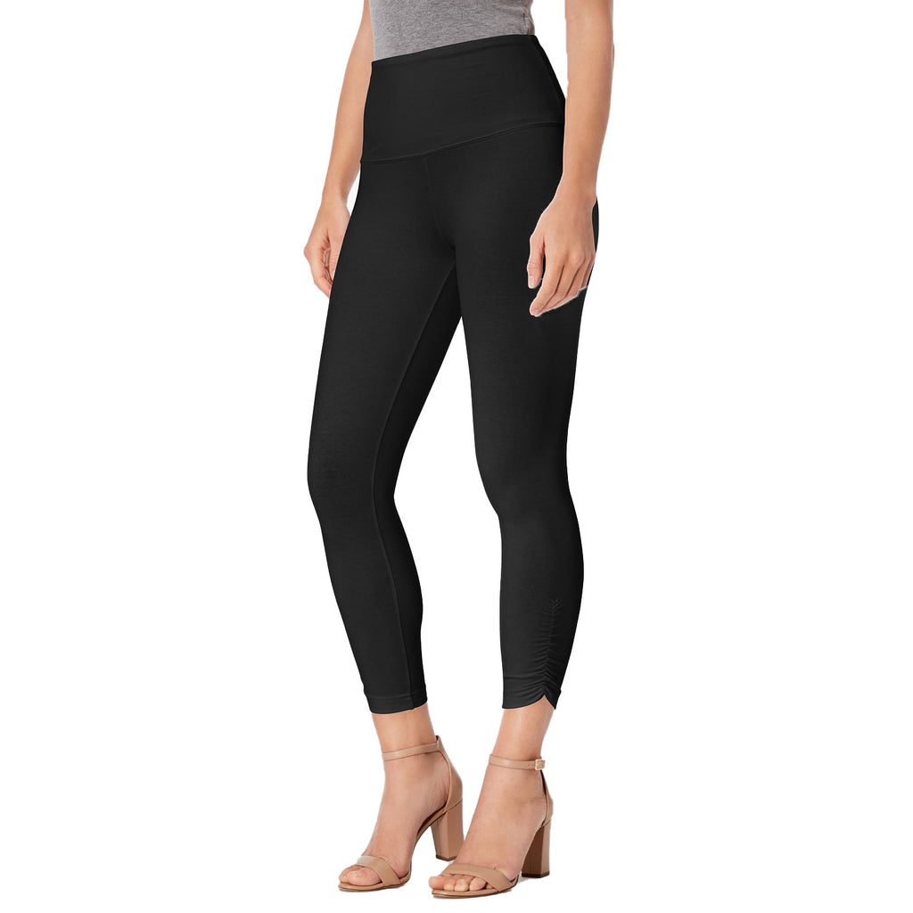 Lysse Black Capri Legging with Cinch Sides Size Extra Small Muse Boutique Outlet | Shop Designer Clearance Bottoms on Sale | Up to 90% Off Designer Fashion