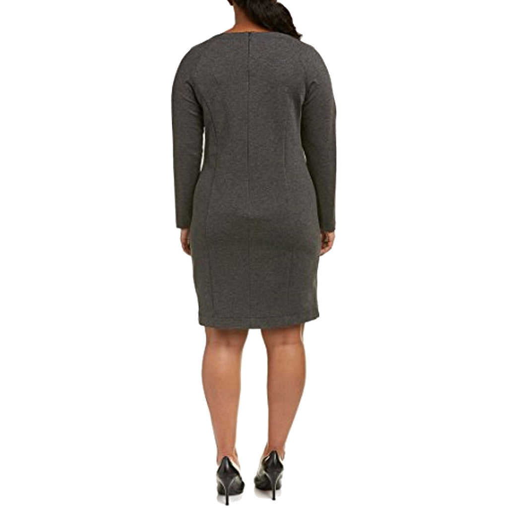 Marina Sport  Ponte Knit Sheath Dress Plus Size Size  Muse Boutique Outlet | Shop Designer Plus Size Dresses on Sale | Up to 90% Off Designer Fashion