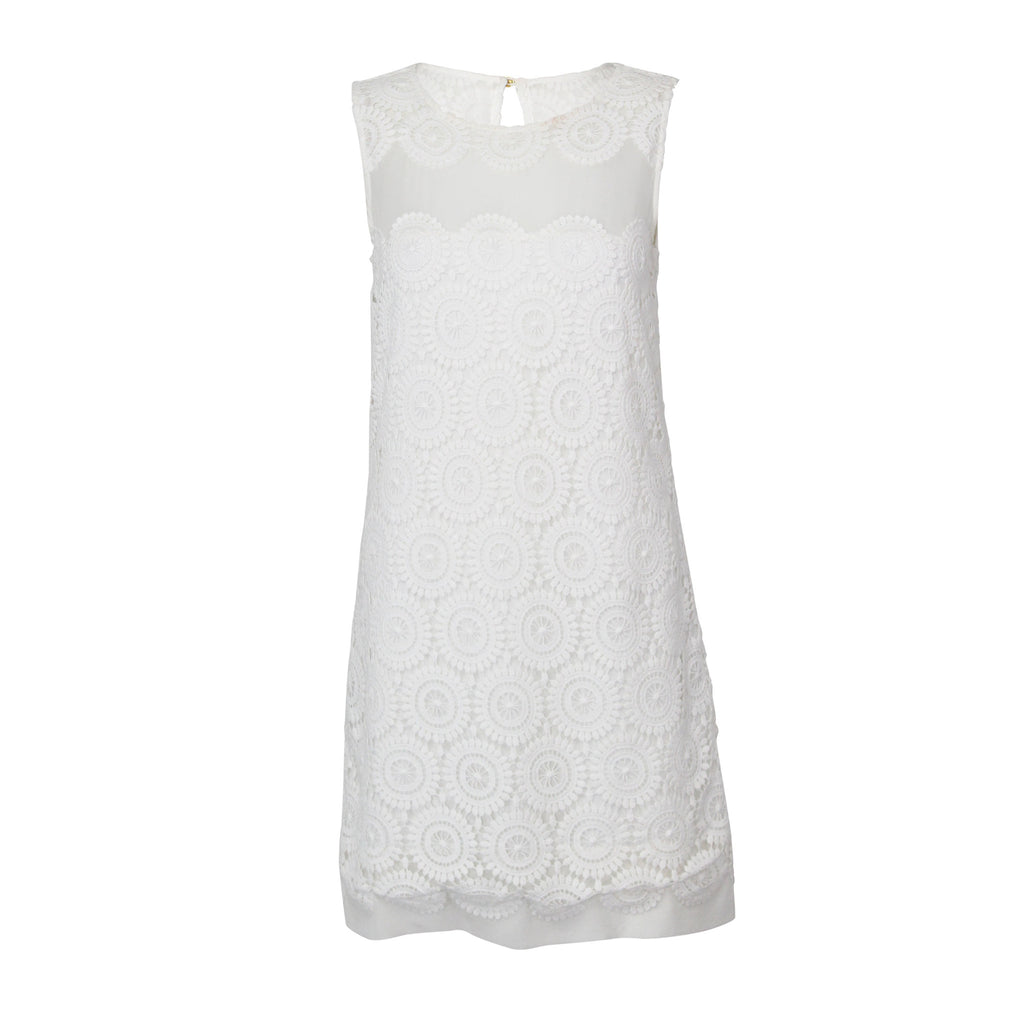 Marie Oliver White Lace Shift Dress Size Small Muse Boutique Outlet | Shop Designer Clearance Dresses on Sale | Up to 90% Off Designer Fashion