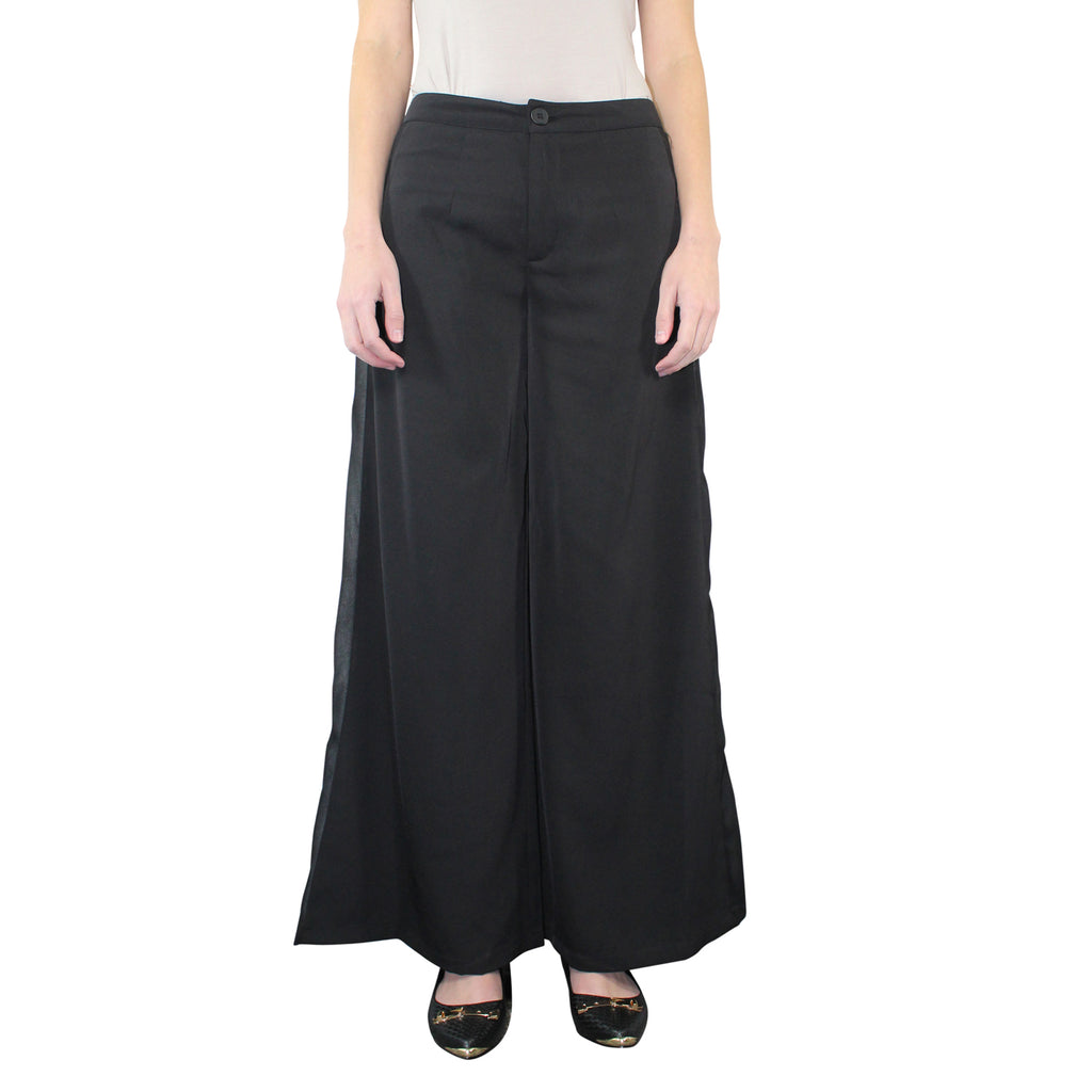 Miilla Black Wide Leg Pants Size Small Muse Boutique Outlet | Shop Designer Clearance Bottoms on Sale | Up to 90% Off Designer Fashion