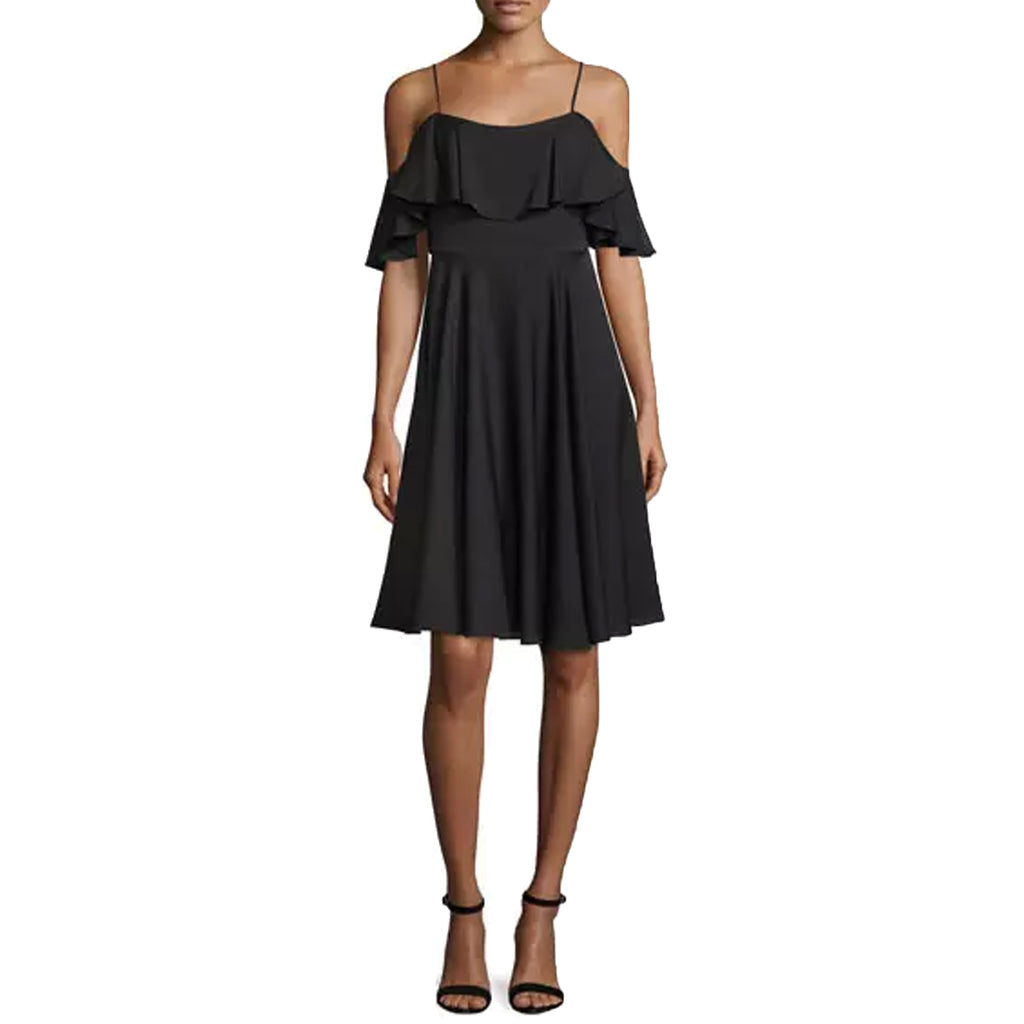 Milly Black Emmaline Cold Shoulder Dress Size 2 Muse Boutique Outlet | Shop Designer Dresses on Sale | Up to 90% Off Designer Fashion