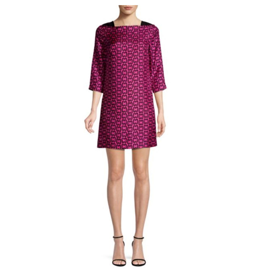 Milly Berry Julia Chain Print Mini Dress Size 10 Muse Boutique Outlet | Shop Designer Dresses on Sale | Up to 90% Off Designer Fashion