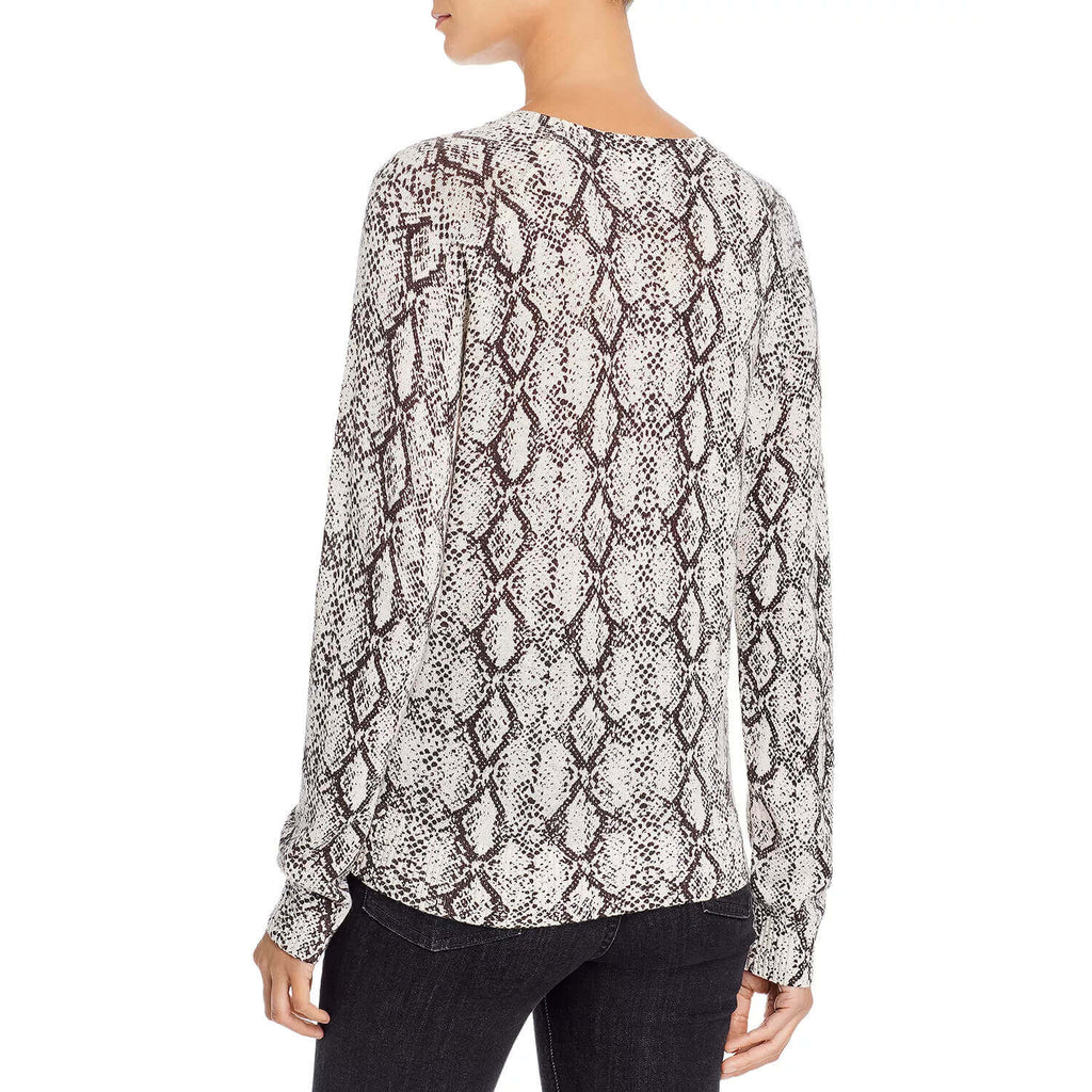 Minnie Rose  Snake Crew Neck Sweater Size  Muse Boutique Outlet | Shop Designer Crewneck Sweaters on Sale | Up to 90% Off Designer Fashion