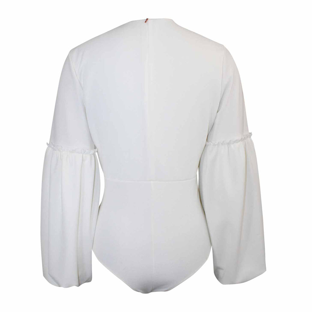 MISA Los Angeles  Haany Long Sleeve Bodysuit Size  Muse Boutique Outlet | Shop Designer Long Sleeve Tops on Sale | Up to 90% Off Designer Fashion