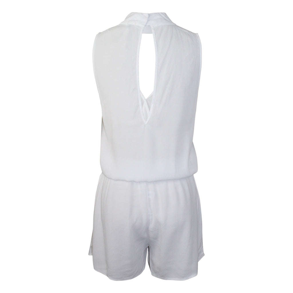 Monrow  Crepe Romper Size  Muse Boutique Outlet | Shop Designer Rompers & Jumpsuits on Sale | Up to 90% Off Designer Fashion