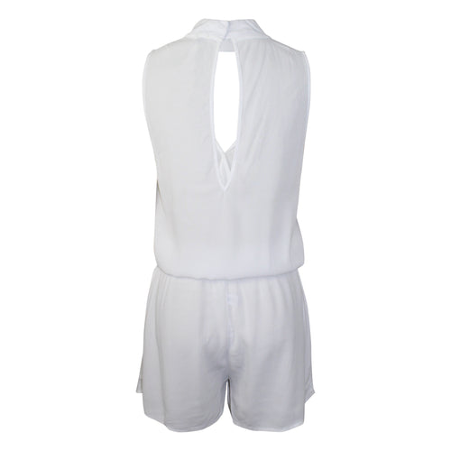 Monrow Crepe Romper   Muse Boutique Outlet