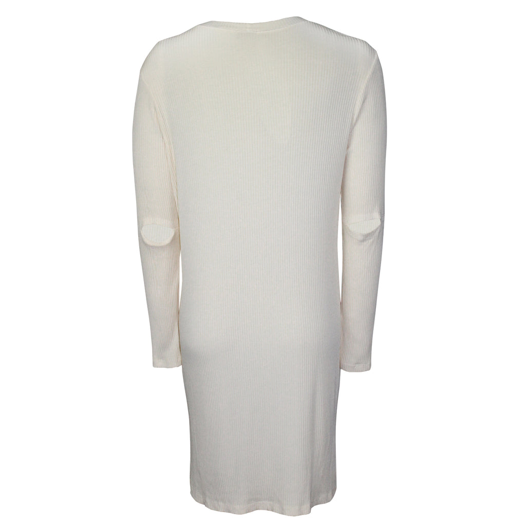 Monrow  Ribbed Long Sleeve Tunic Size  Muse Boutique Outlet | Shop Designer Dresses on Sale | Up to 90% Off Designer Fashion