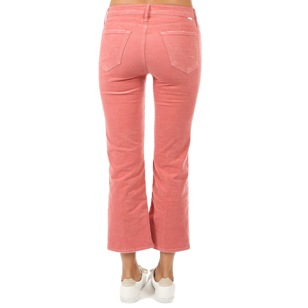 Mother The Outsider Crop Jeans - Pink Pink   Muse Boutique Outlet | Up to 90% Off Designer Fashion