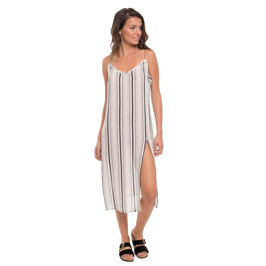 Muche et Muchette White/Black Faustine Slip Dress Size One Size Muse Boutique Outlet | Shop Designer Clearance Dresses on Sale | Up to 90% Off Designer Fashion