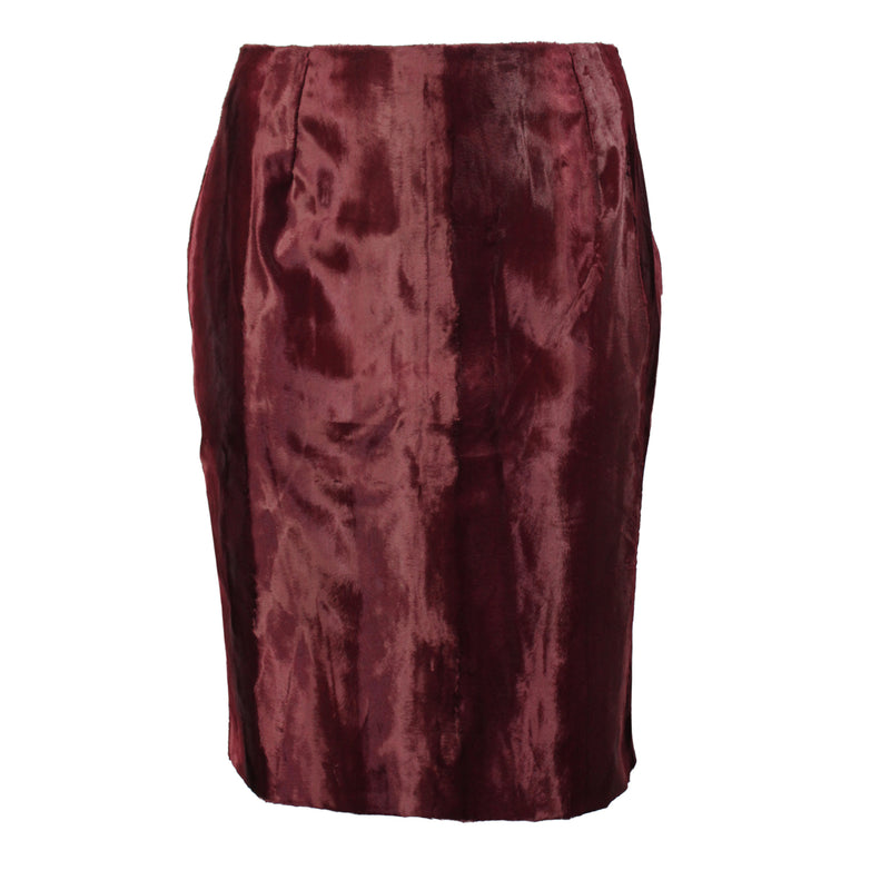 Natan Merlot Mid Skirt Plus Size Size 48 Muse Boutique Outlet | Shop Designer Clearance Skirts on Sale | Up to 90% Off Designer Fashion
