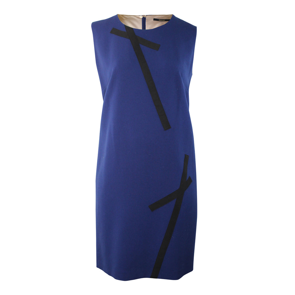 Natan Blue Sleeveless Dress Plus Size Size 50 Muse Boutique Outlet | Shop Designer Clearance Dresses on Sale | Up to 90% Off Designer Fashion