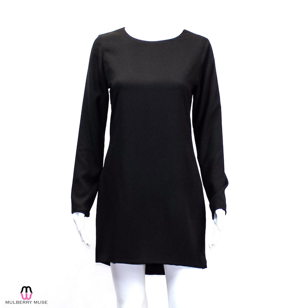 Naven Black Silk Shift Dress Size 8 Muse Boutique Outlet | Shop Designer Clearance Dresses on Sale | Up to 90% Off Designer Fashion