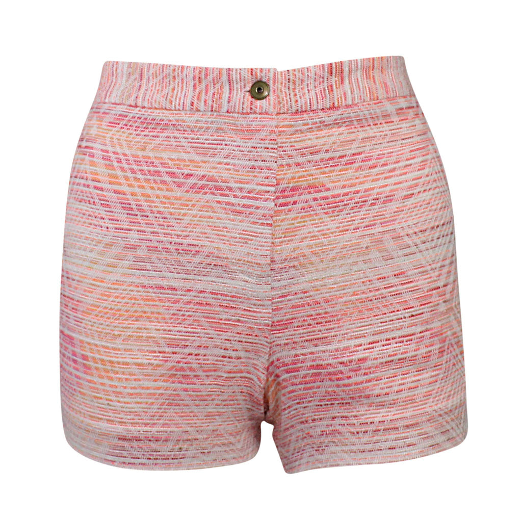 Nell Coral/White Max Short Size 6 Muse Boutique Outlet | Shop Designer Clearance Shorts on Sale | Up to 90% Off Designer Fashion