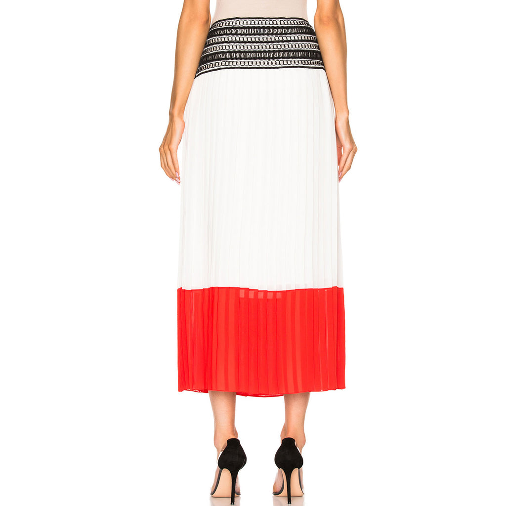 Oscar De La Renta  Pleated Skirt Size  Muse Boutique Outlet | Shop Designer Skirts on Sale | Up to 90% Off Designer Fashion