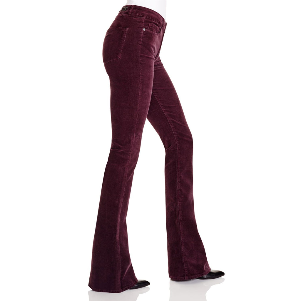 Paige  High Rise Lou Lou Velvet Pants Size  Muse Boutique Outlet | Shop Designer Denim Pants on Sale | Up to 90% Off Designer Fashion