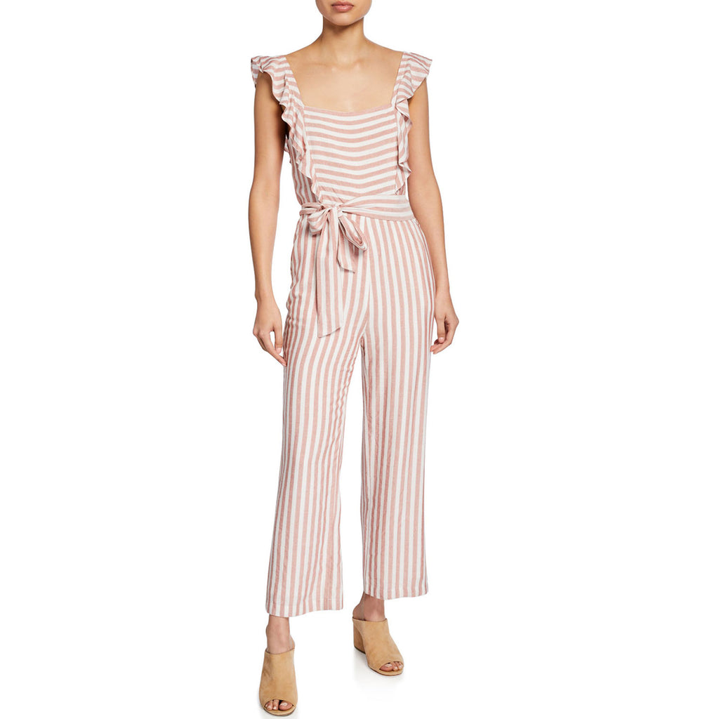 Paige Cove Stripe Marino Striped Jumpsuit Size Small Muse Boutique Outlet | Shop Designer Rompers & Jumpsuits on Sale | Up to 90% Off Designer Fashion