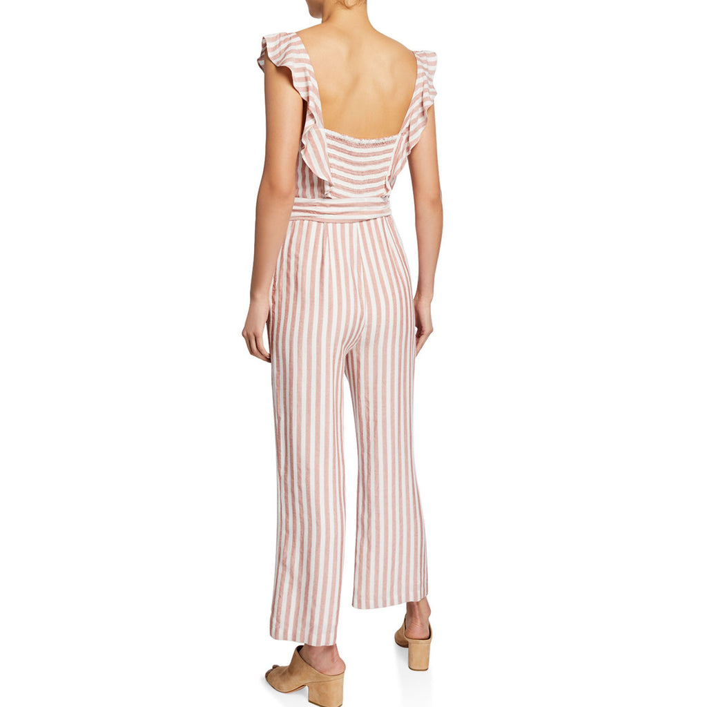 Paige  Marino Striped Jumpsuit Size  Muse Boutique Outlet | Shop Designer Rompers & Jumpsuits on Sale | Up to 90% Off Designer Fashion