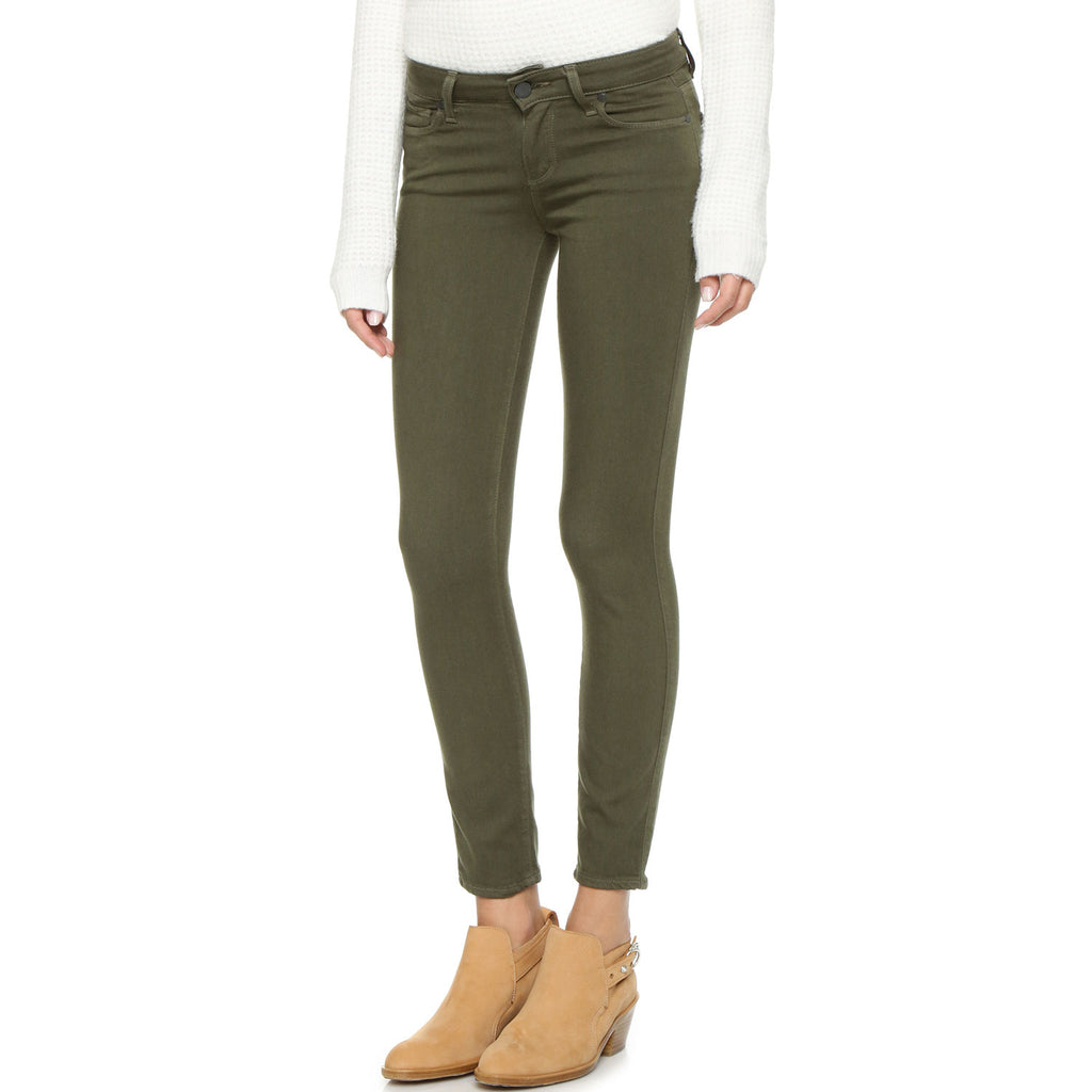 Paige Camo Green Verdugo Ankle Skinny Jean Size 24 Muse Boutique Outlet | Shop Designer Denim Pants on Sale | Up to 90% Off Designer Fashion