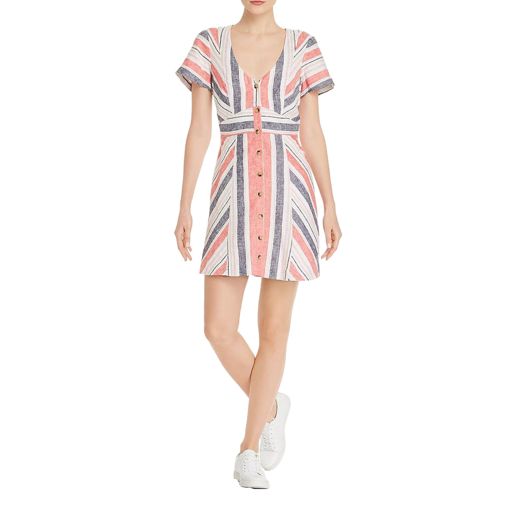 Parker Multi Kacey Stripe Dress Size 2 Muse Boutique Outlet | Shop Designer Dresses on Sale | Up to 90% Off Designer Fashion