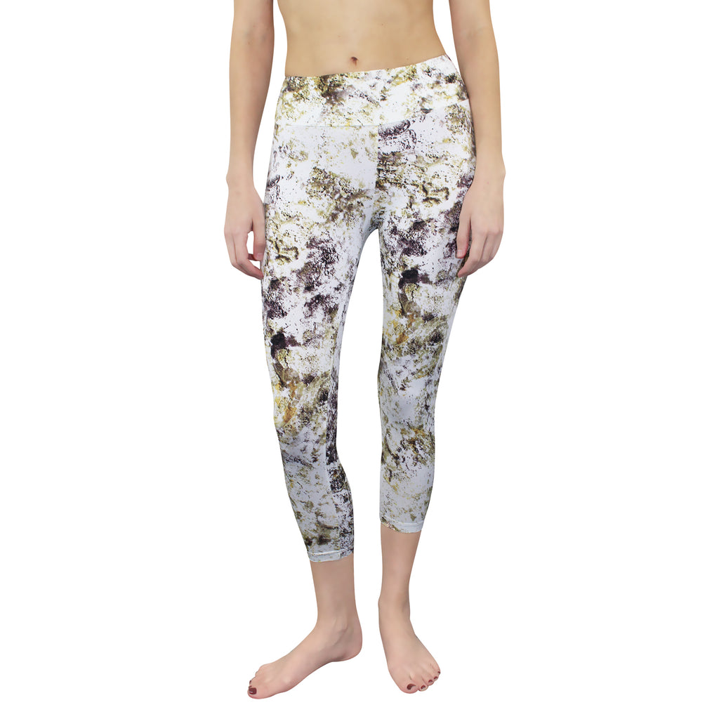 Peony & Me Cloud Dancer Earthy Minerals Printed Leggings Size Extra Small Muse Boutique Outlet | Shop Designer Clearance Activewear on Sale | Up to 90% Off Designer Fashion