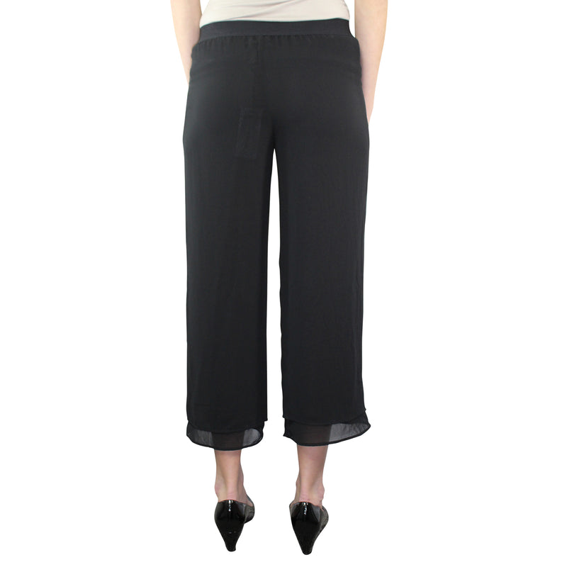 Pierantonio Gaspari  Lightweight Culotte Trouser Size  Muse Boutique Outlet | Shop Designer Clearance Bottoms on Sale | Up to 90% Off Designer Fashion