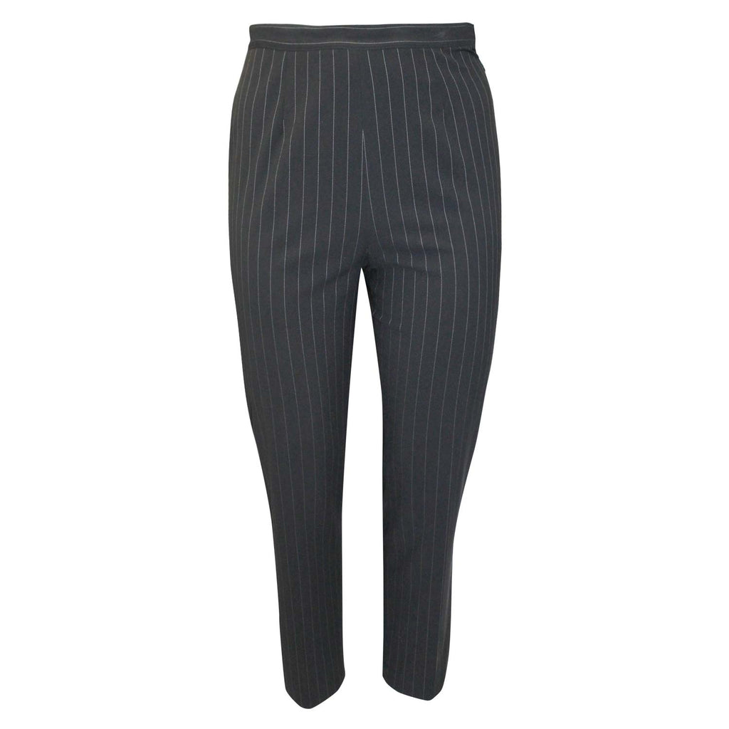 Private Label Black High Waisted Stripe Pant Size 14 Muse Boutique Outlet | Shop Designer Pant on Sale | Up to 90% Off Designer Fashion