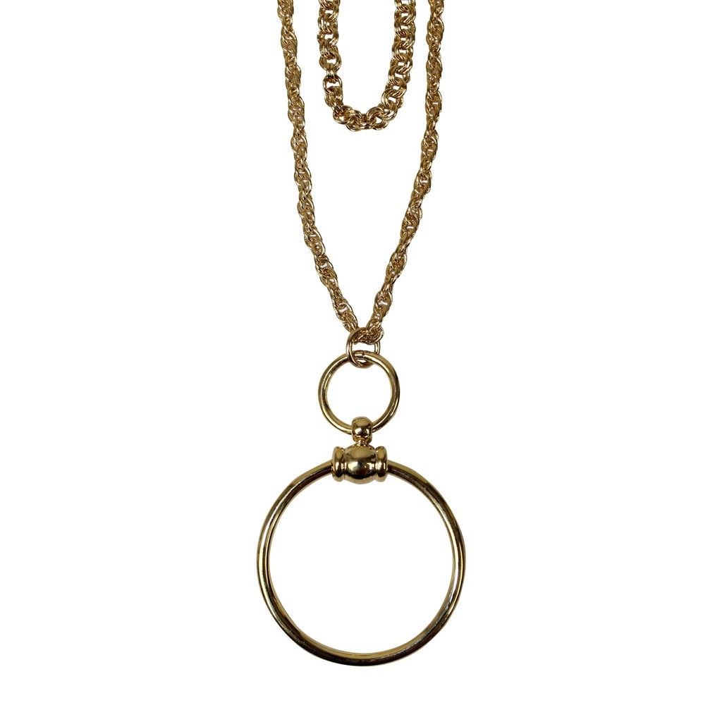 Private Label  Layered Circle Pendant Necklace Size  Muse Boutique Outlet | Shop Designer Clearance Jewelry on Sale | Up to 90% Off Designer Fashion