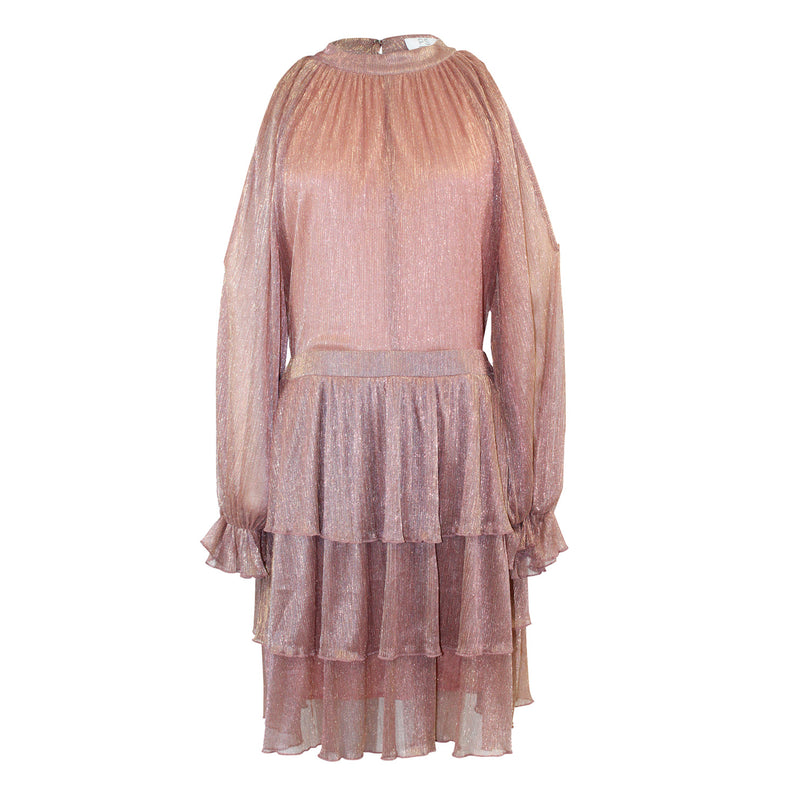 PS The Label Rose Need You Now Tiered Dress Size Medium Muse Boutique Outlet | Shop Designer Evening/Cocktail on Sale | Up to 90% Off Designer Fashion