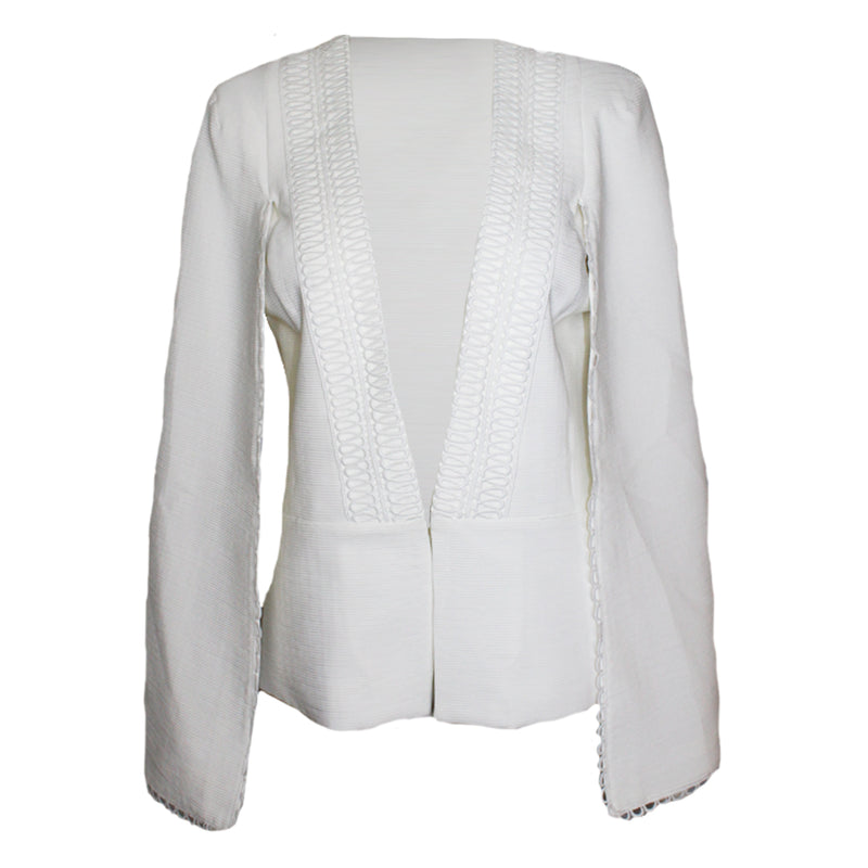 PS The Label Ivory Gemini Cape Jacket Size Medium Muse Boutique Outlet | Shop Designer Jackets on Sale | Up to 90% Off Designer Fashion