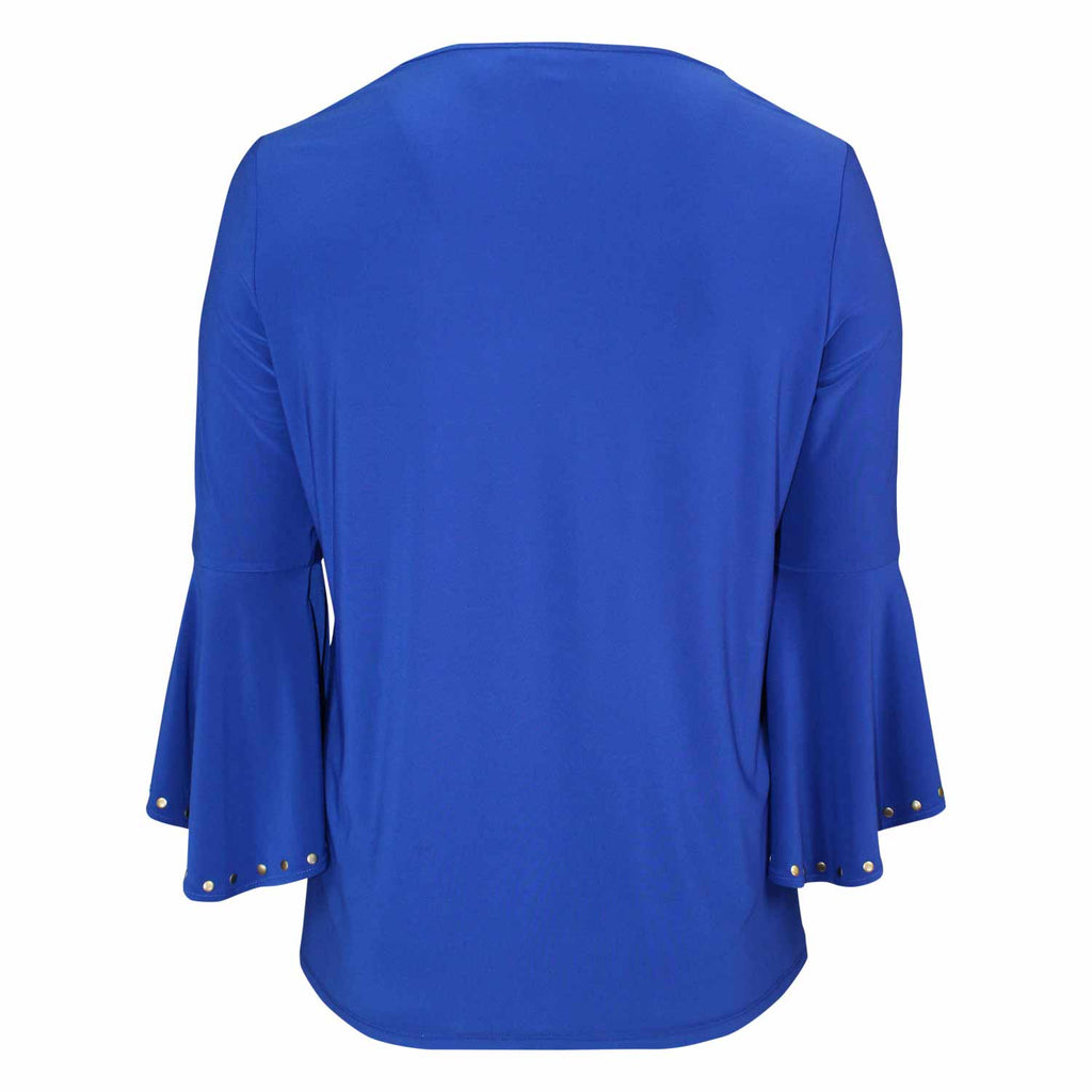 Raffinalla  Studded Bell Sleeve Top Size  Muse Boutique Outlet | Shop Designer Three Quarter Sleeve Tops on Sale | Up to 90% Off Designer Fashion