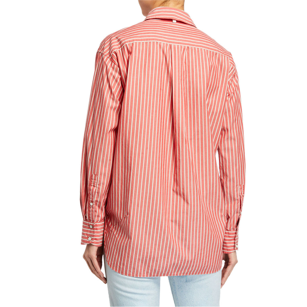 Rag & Bone  Alina Striped Top Size  Muse Boutique Outlet | Shop Designer Long Sleeve Tops on Sale | Up to 90% Off Designer Fashion