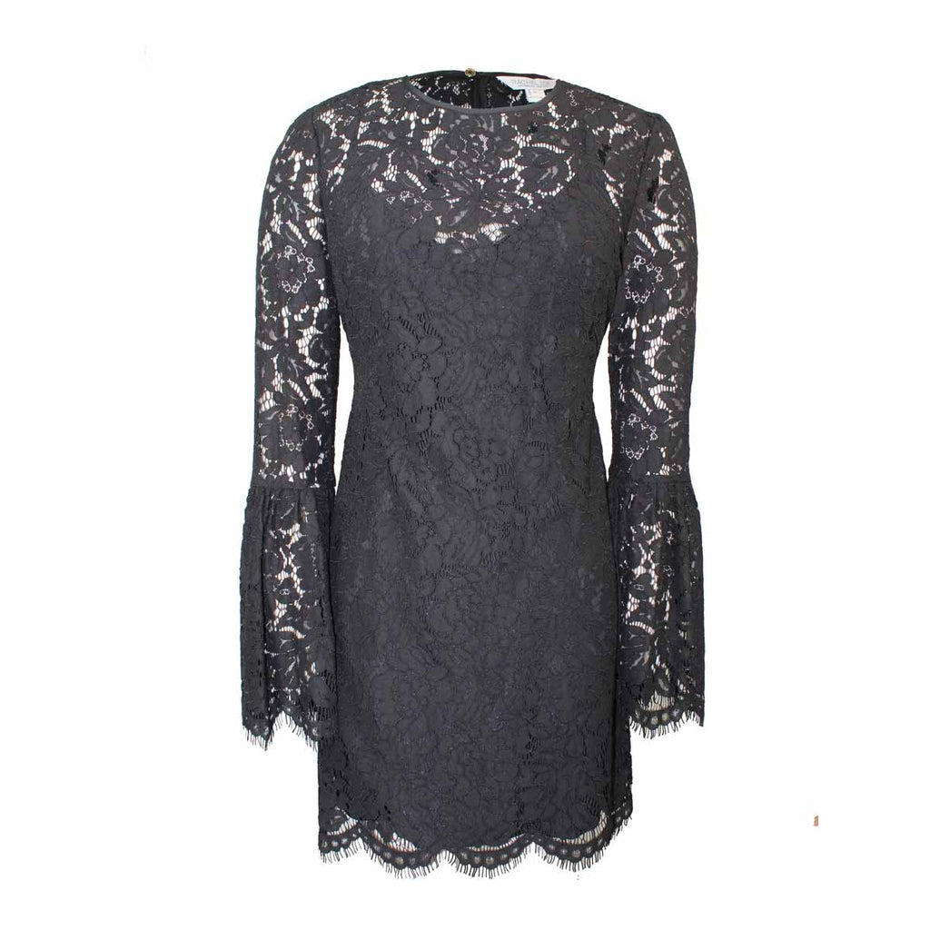 Rachel Zoe Black Lace Bell Sleeve Dress Size 0 Muse Boutique Outlet | Shop Designer Dresses on Sale | Up to 90% Off Designer Fashion