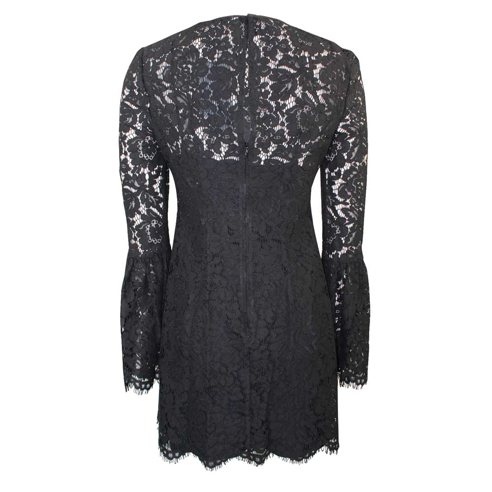 Rachel Zoe  Lace Bell Sleeve Dress Size  Muse Boutique Outlet | Shop Designer Dresses on Sale | Up to 90% Off Designer Fashion