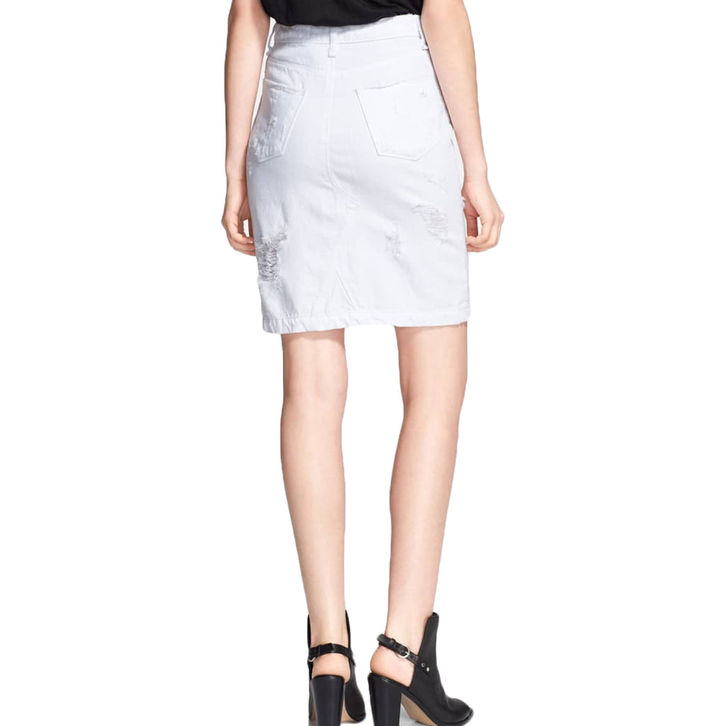 Rag & Bone  Distressed Denim Skirt Size  Muse Boutique Outlet | Shop Designer Clearance Skirts on Sale | Up to 90% Off Designer Fashion