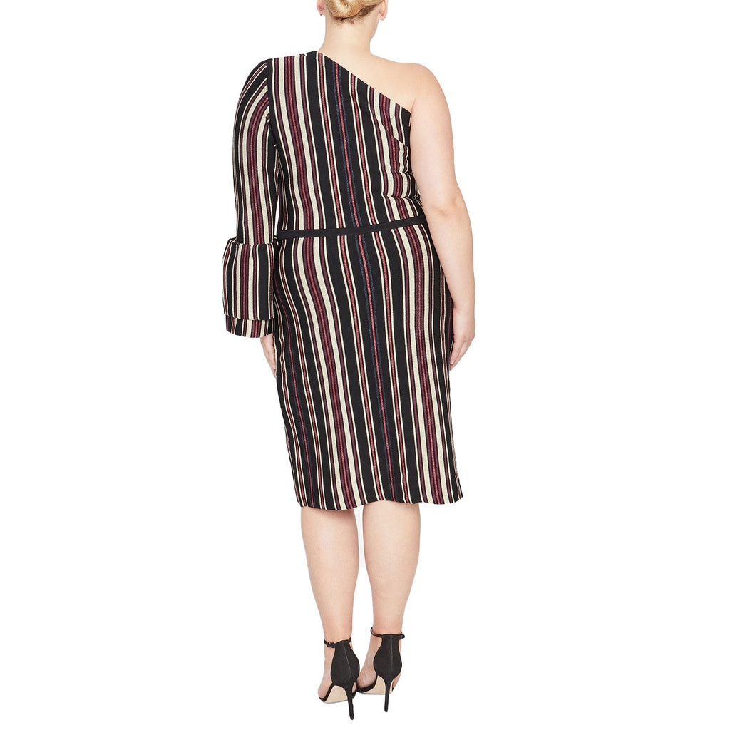 Rachel Roy  One Shoulder Sweater Dress Size  Muse Boutique Outlet | Shop Designer Plus Size Dresses on Sale | Up to 90% Off Designer Fashion