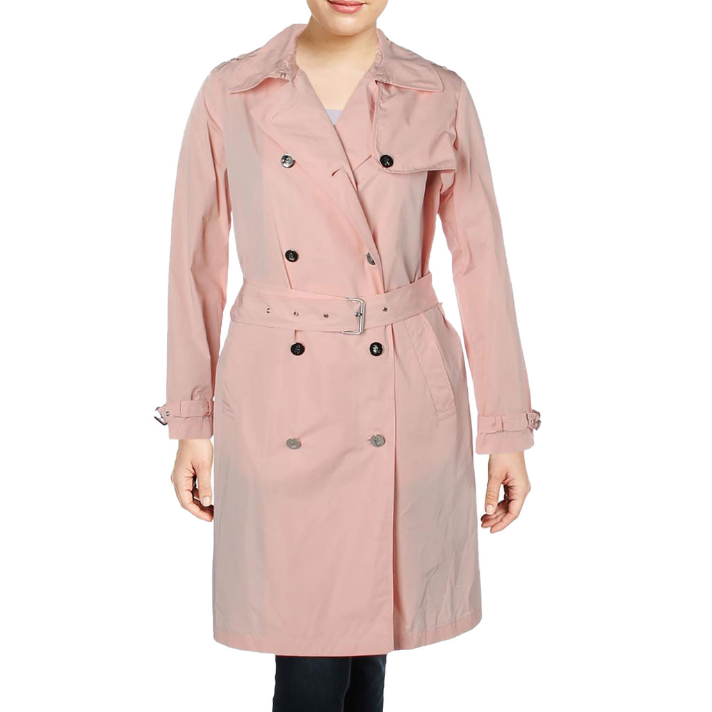 Lauren by Ralph Lauren Pink Trench Coat Size 14 Muse Boutique Outlet | Shop Designer Jackets on Sale | Up to 90% Off Designer Fashion