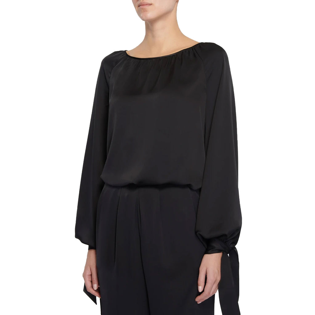 Ramy Brook Black Amy Top Size Small Muse Boutique Outlet | Shop Designer Long Sleeve Tops on Sale | Up to 90% Off Designer Fashion