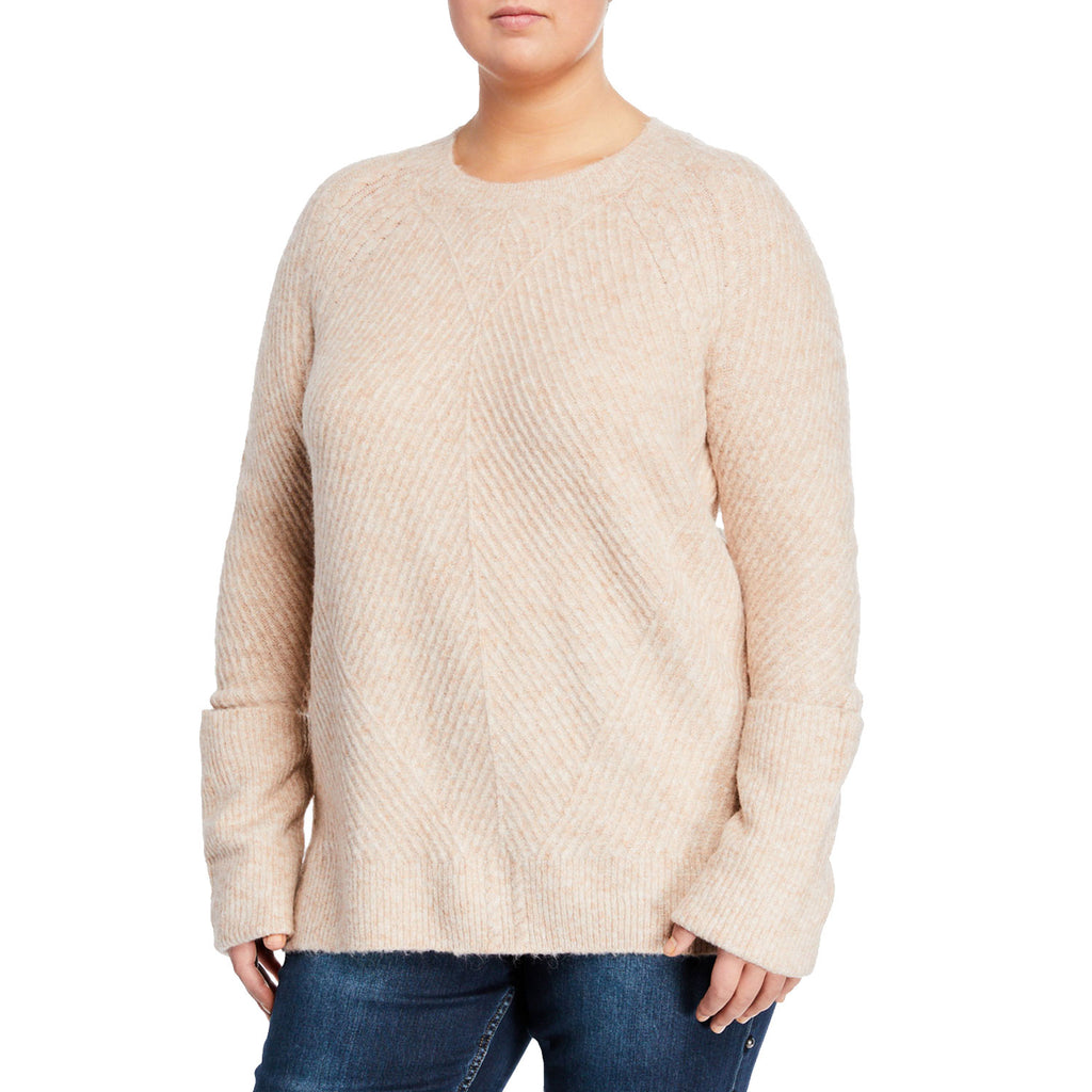 Rachel Roy Blush Elle Metallic Sweater Size 2XL Muse Boutique Outlet | Shop Designer Sweaters on Sale | Up to 90% Off Designer Fashion
