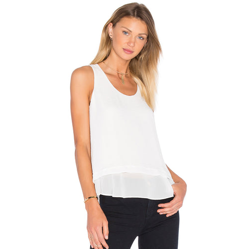 Rebecca Taylor Ella Top 2 Chalk Muse Boutique Outlet