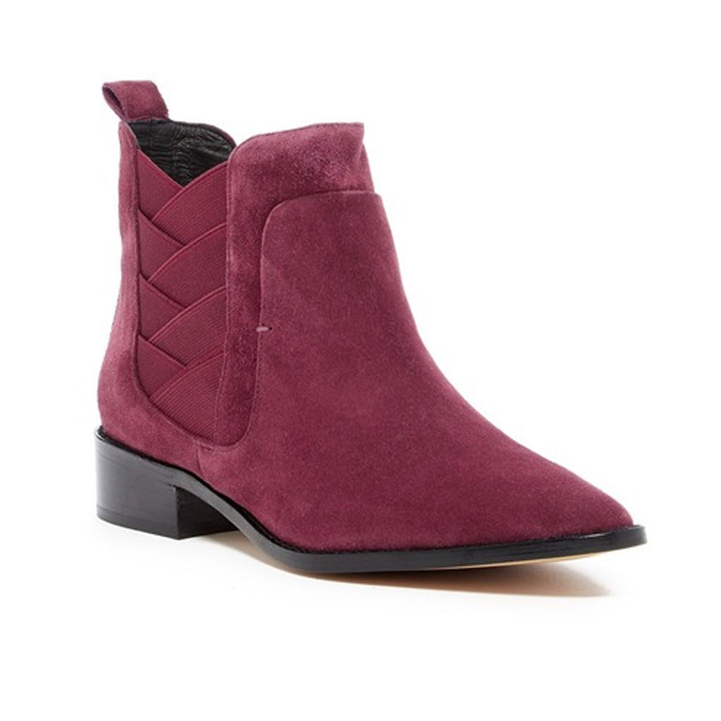 Rebecca Minkoff Dark Maroon Jacy Bootie Size 6.5 Muse Boutique Outlet | Shop Designer Boots on Sale | Up to 90% Off Designer Fashion