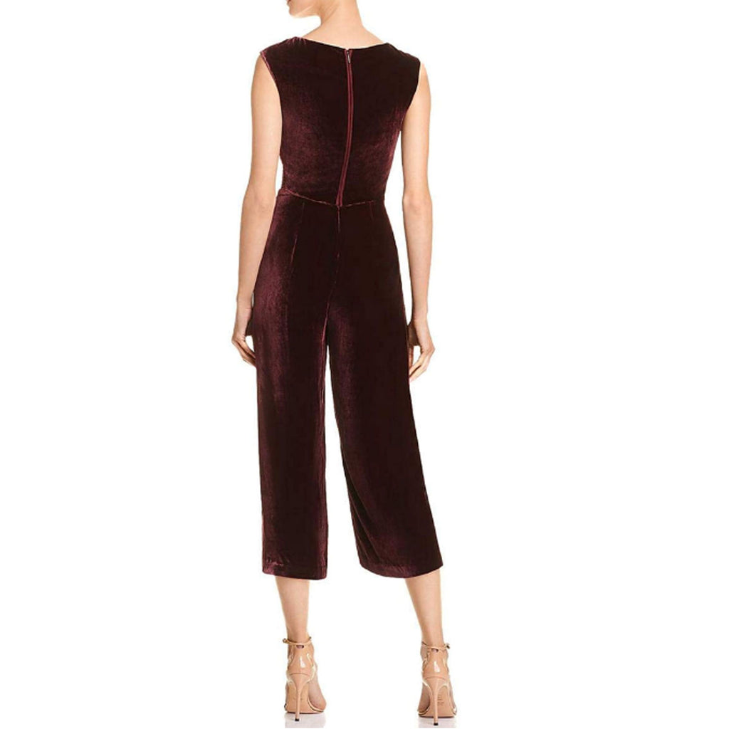 Rebecca Taylor  Velvet Ruched Jumpsuit Size  Muse Boutique Outlet | Shop Designer Rompers & Jumpsuits on Sale | Up to 90% Off Designer Fashion