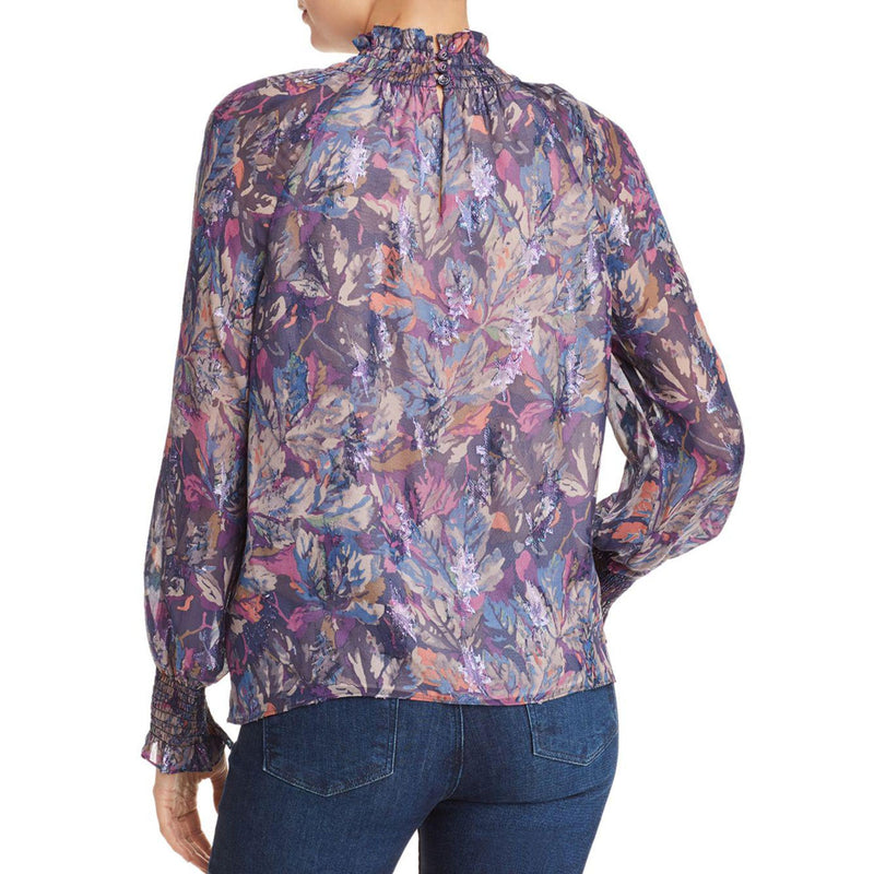 Rebecca Taylor  Mock Neck Silk Top Size  Muse Boutique Outlet | Shop Designer Blouses on Sale | Up to 90% Off Designer Fashion