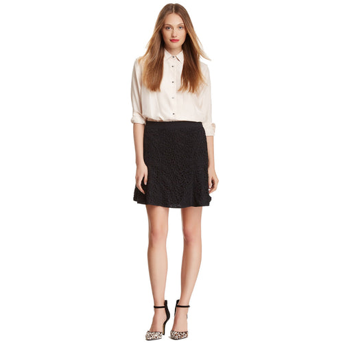 Rebecca Taylor Lace Skirt 4 Black Muse Boutique Outlet