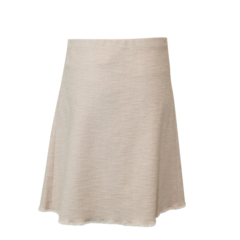 Rene Lezard  Textured Flounce Skirt Size  Muse Boutique Outlet | Shop Designer Clearance Skirts on Sale | Up to 90% Off Designer Fashion