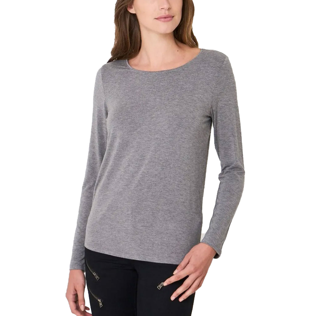 Repeat Cashmere Gray Long Sleeve Knit Top Size Large Muse Boutique Outlet | Shop Designer Long Sleeve Tops on Sale | Up to 90% Off Designer Fashion