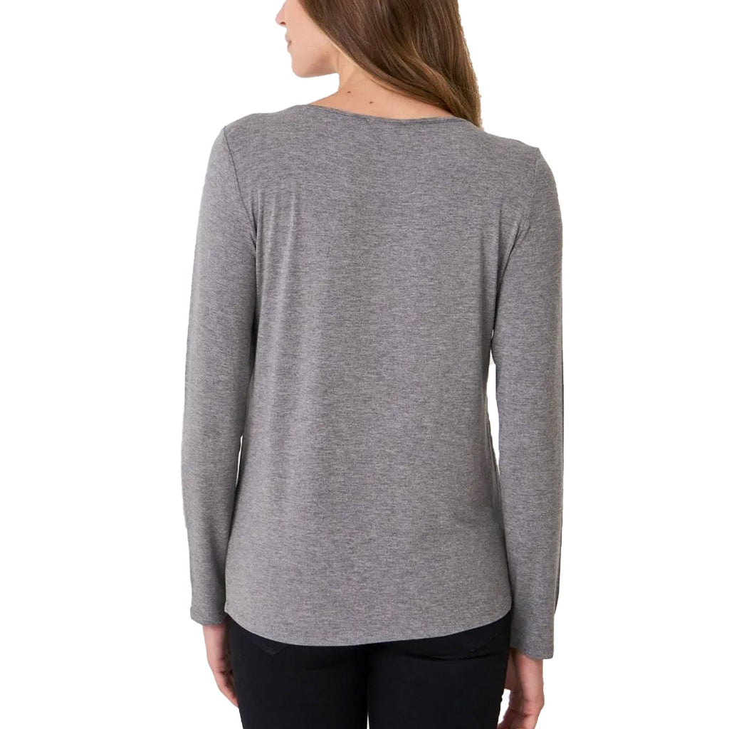 Repeat Cashmere  Long Sleeve Knit Top Size  Muse Boutique Outlet | Shop Designer Long Sleeve Tops on Sale | Up to 90% Off Designer Fashion