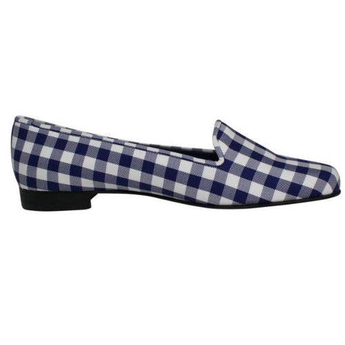 Hadleigh's Rose Smoking Slipper 36.5/6.5 Navy Muse Boutique Outlet