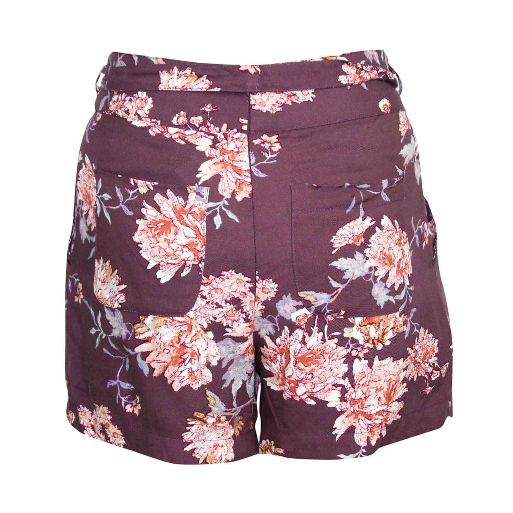 Sage The Label  Milena High Waisted Floral Shorts Size  Muse Boutique Outlet | Shop Designer Shorts on Sale | Up to 90% Off Designer Fashion