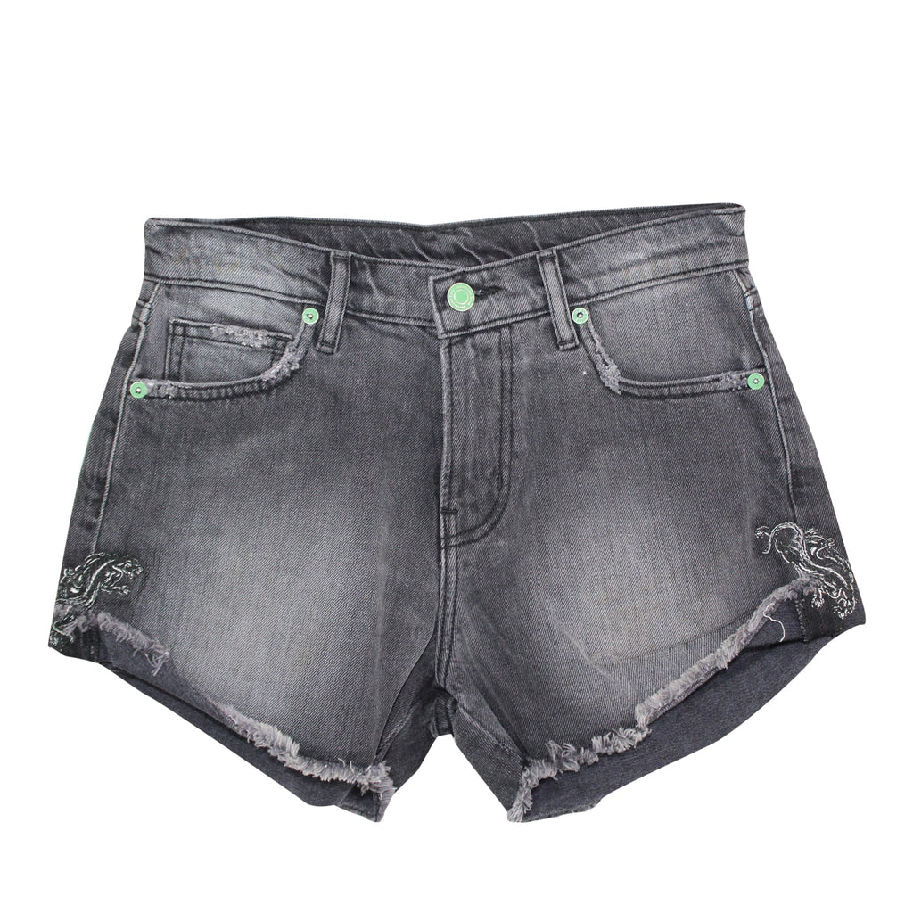 Sandrine Rose Dark Grey Denim Cut Off Shorts Size 24 Muse Boutique Outlet | Shop Designer Clearance Shorts on Sale | Up to 90% Off Designer Fashion